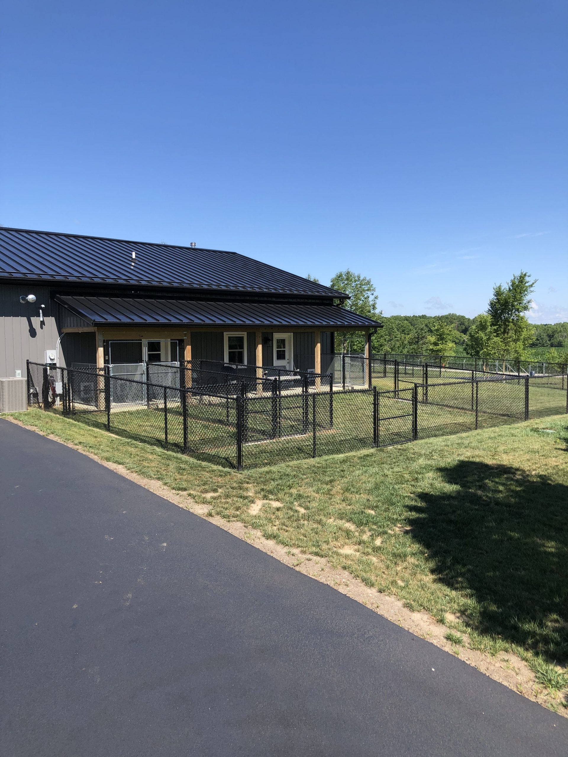 Main kennel area July 2020